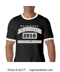 Men's Aurich Shoreliners 2010 ringneck T-shirt Design Zoom