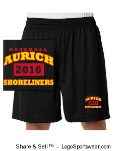 Official 2010 Team Workout shorts Design Zoom