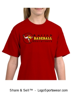 Kids Curveball Baseball T-shirt Design Zoom